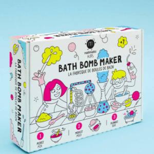 Kit pour fabriquer des boules de bain - Bath Bomb Maker - nailmatic Kids