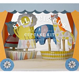 Silly Circus Cupcake Kit Meri Meri fête du cirque