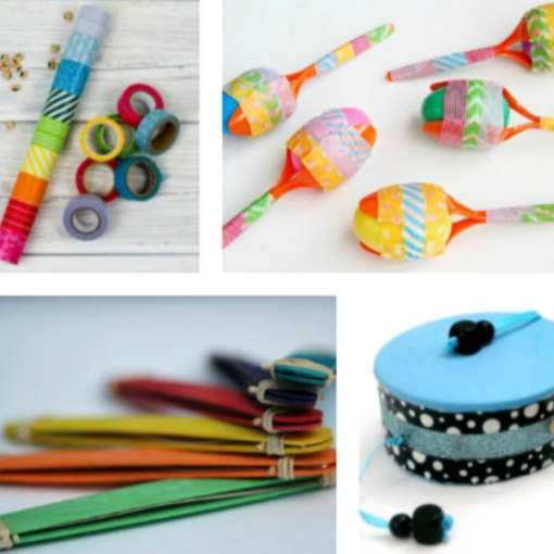 10 DIY Musical Instruments for Kids - Planning Playtime