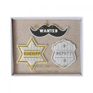 Broches sheriff