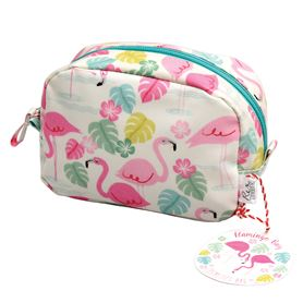 TROUSSE MAQUILLAGE FLAMANT ROSE