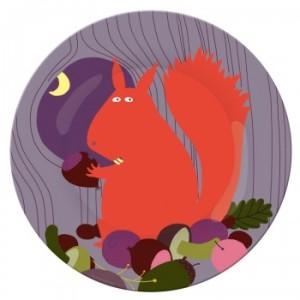 assiette-a-dessert-l-ecureuil