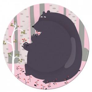 assiette-a-dessert-l-ours