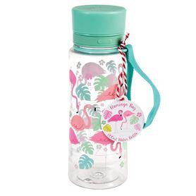 bouteille d eau flamant rose