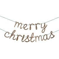 guirlande plexi merry christmas