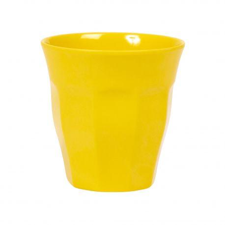 gobelet-en-melamine-jaune-medium